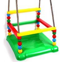 Houpačka plast 35 x 34 cm nosnost 40 kg zelený sedák