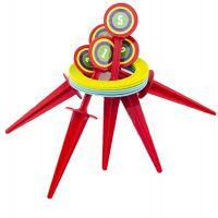 Hra házecí kroužky a kolíky 25 cm