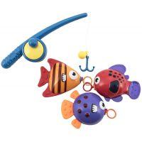 Hra na rybáře Ryby s prutem 20 cm
