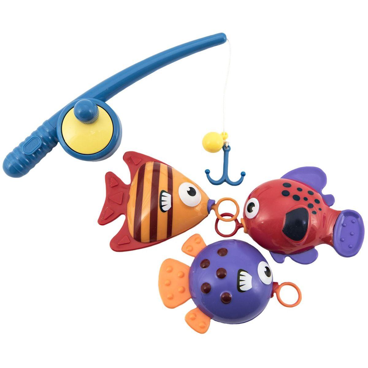 Hra ryby rybár s prútom 20cm
