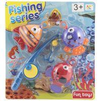 Hra na rybáře Ryby s prutem 20 cm 2
