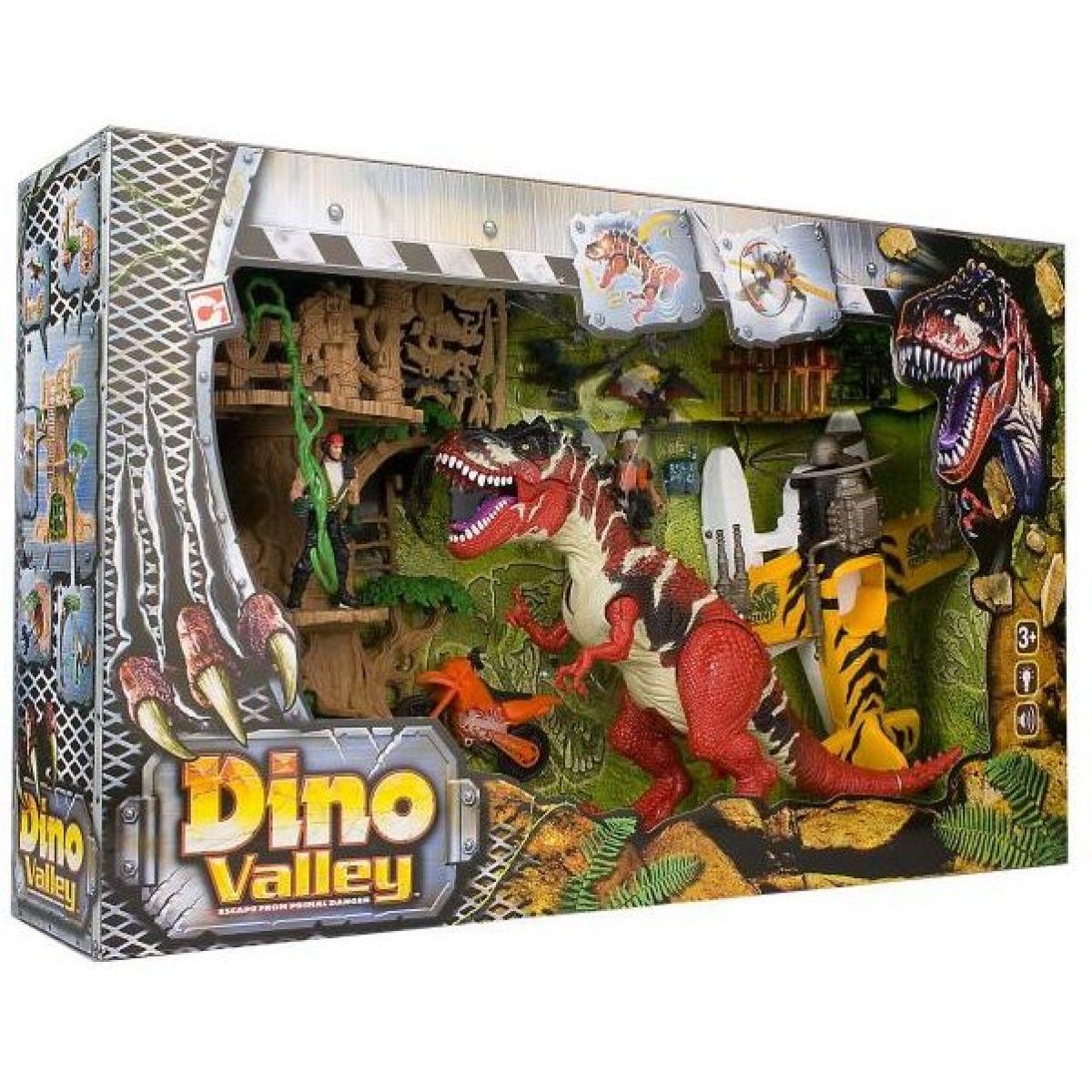 Hrací set Dinosaurus, Útok na dům ze stromu