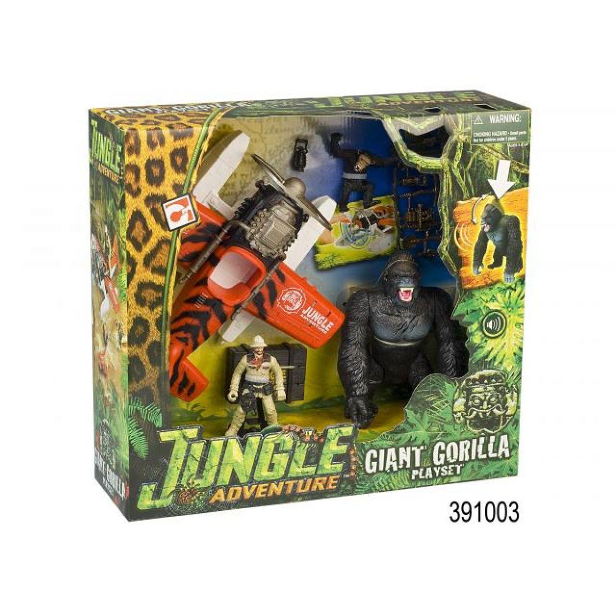 Hrací set Dobrodružství v džungli s Gorilou