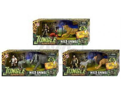 Hrací set Dobrodružství v džungli