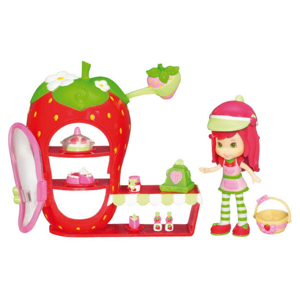 Strawberry Shortcake 19086 - Hrací set jahůdka - butik