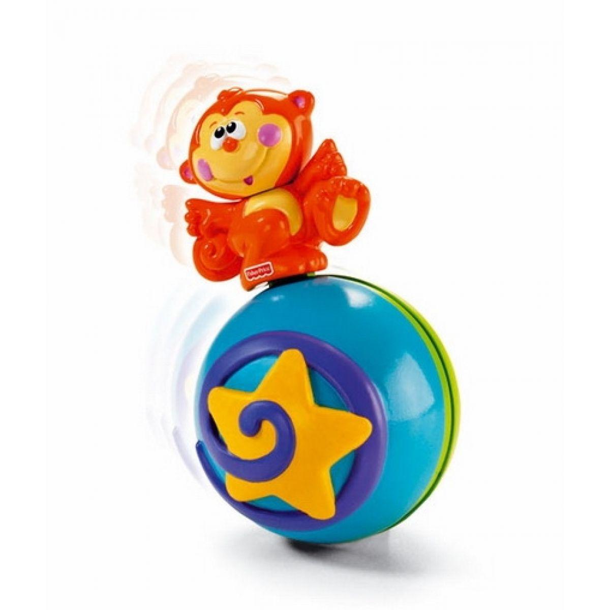 Fisher Price M4045 - Hudební míček s opičkou