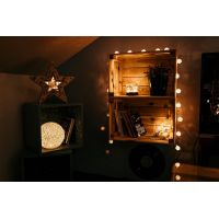 Marimex Hvězda 2v1 10+6 LED Nature 4