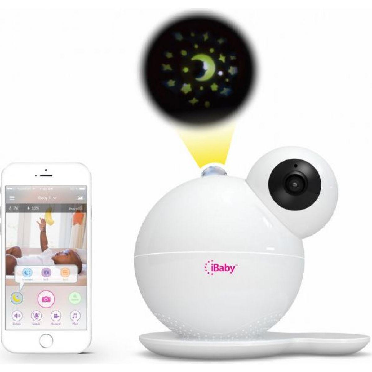 iBaby Care M7 video chůvička se senzorem kvality vzduchu a nočním světlem