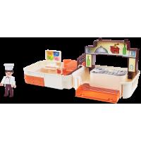 Igráček Handy Kuchyně s kuchařem a doplňky