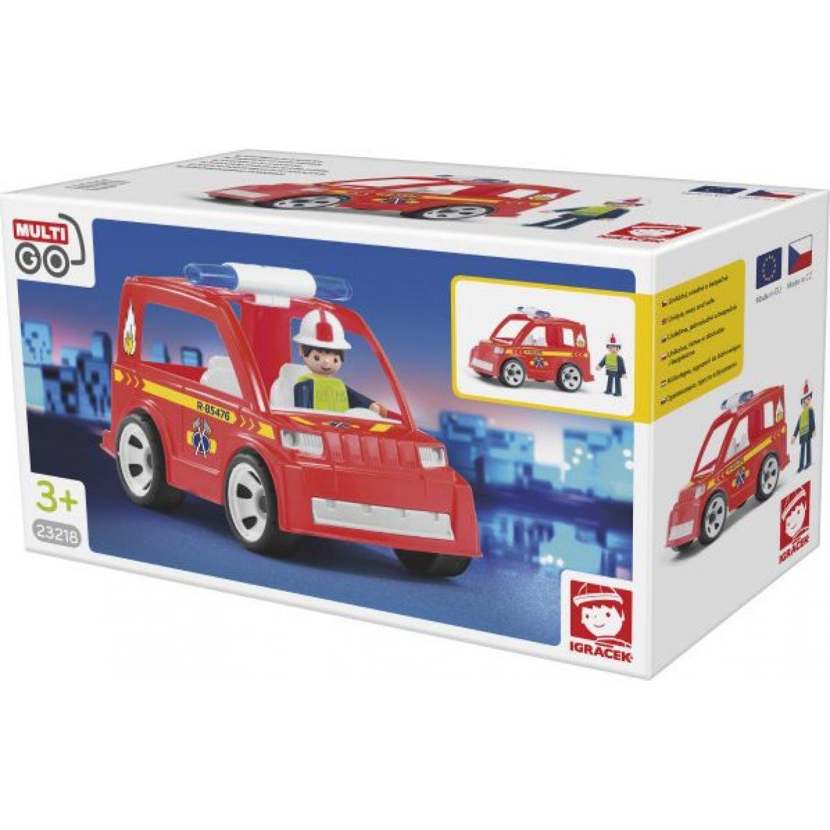 Igráček Hasičské auto s hasičem