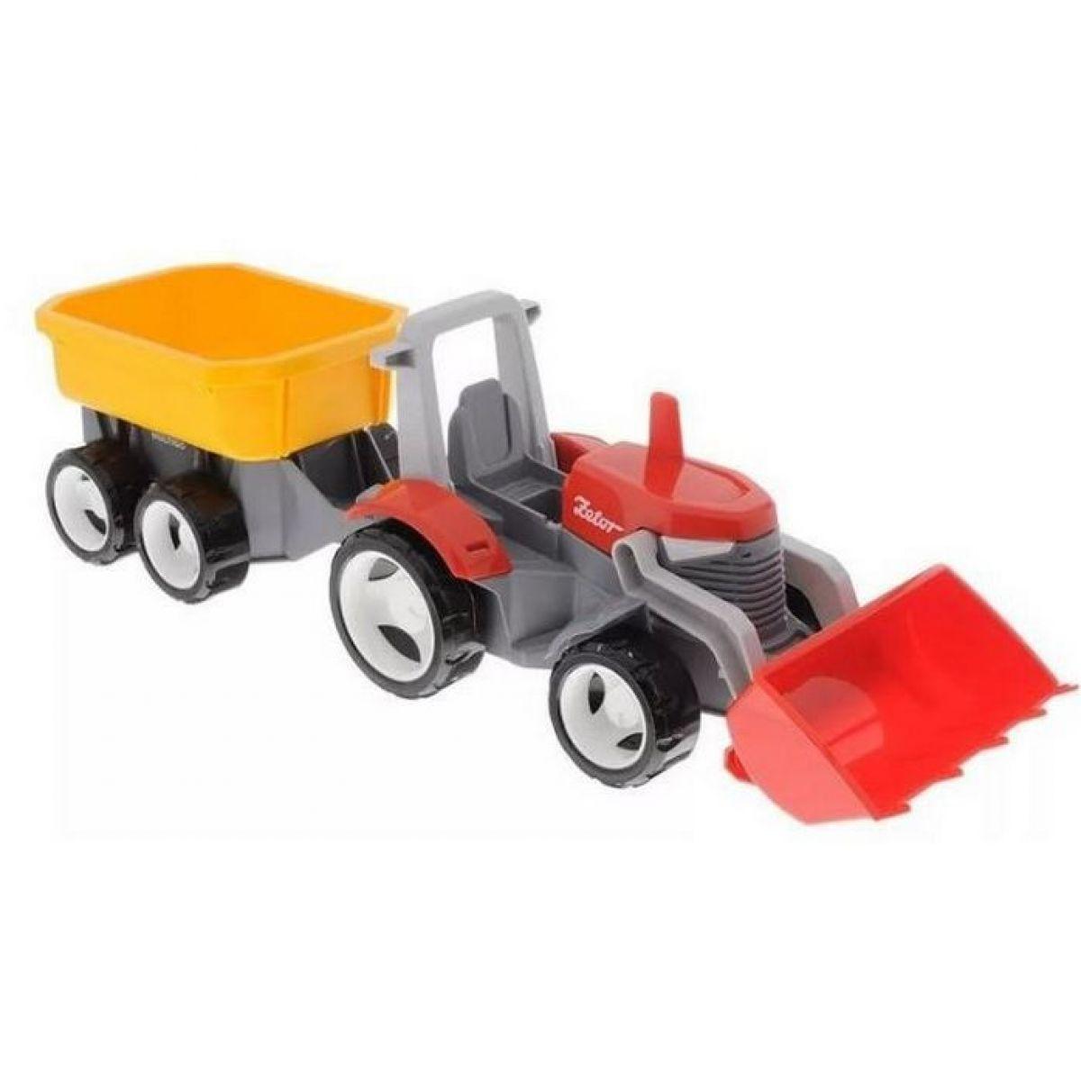 Igráček Multigo 1+2 traktor s přívěsem Eko balení