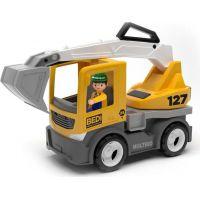 Igráček Multigo Build bagr s řidičem