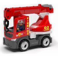 Igráček Multigo Fire jeřáb s řidičem