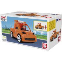 Igráček Multigo Vozidlo silniční údržby s cestářem 2