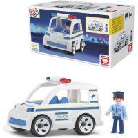 Igráček Policejní auto s policistou 2