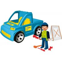 IGRÁČEK 23017 - Řemeslník + auto + doplňky