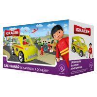 IGRÁČEK 23019 - Záchranář se sanitkou a doplňky 2