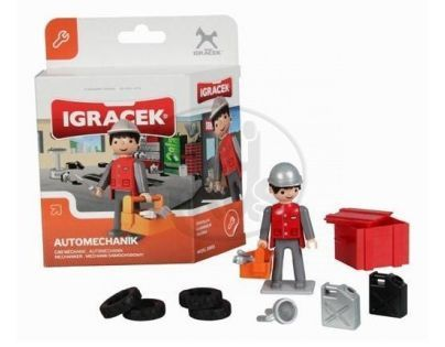 IGRÁČEK 21012 - Automechanik midi