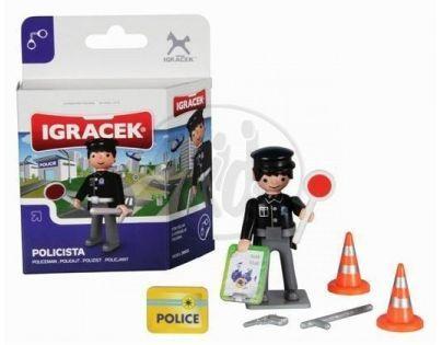 IGRÁČEK 20013 - Policista mini