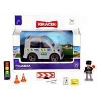 IGRÁČEK 23011 - Policista auto