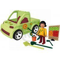 IGRÁČEK 23016 - Zahradnice + auto + doplňky