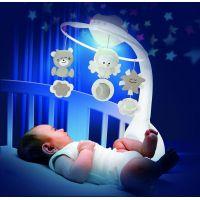 Infantino Hudební kolotoč s projekcí 3v1 ecru 4