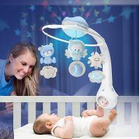 Infantino Hudební kolotoč s projekcí 3v1 modrý 2