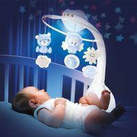 Infantino Hudební kolotoč s projekcí 3v1 modrý 3