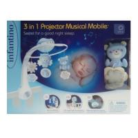 Infantino Hudební kolotoč s projekcí 3v1 modrý 6