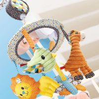 Infantino Hudební kolotoč Zvířátka 4