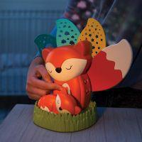 Infantino Noční lampička s hudbou a projekcí Liška 4