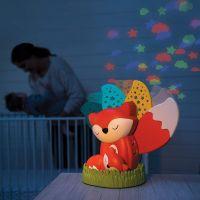 Infantino Noční lampička s hudbou a projekcí Liška 3