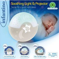 Infantino Noční lampička s projekcí ecru 2