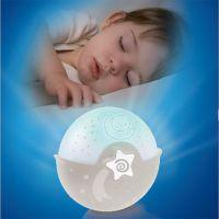 Infantino Noční lampička s projekcí ecru 4