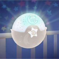 Infantino Noční lampička s projekcí ecru 5