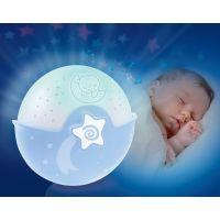 Infantino Noční lampička s projekcí modrá 2