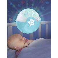 Infantino Noční lampička s projekcí modrá 3