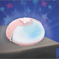 Infantino Noční lampička s projekcí růžová 6