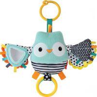 Infantino Vibrující sovička s mávajícími křídly