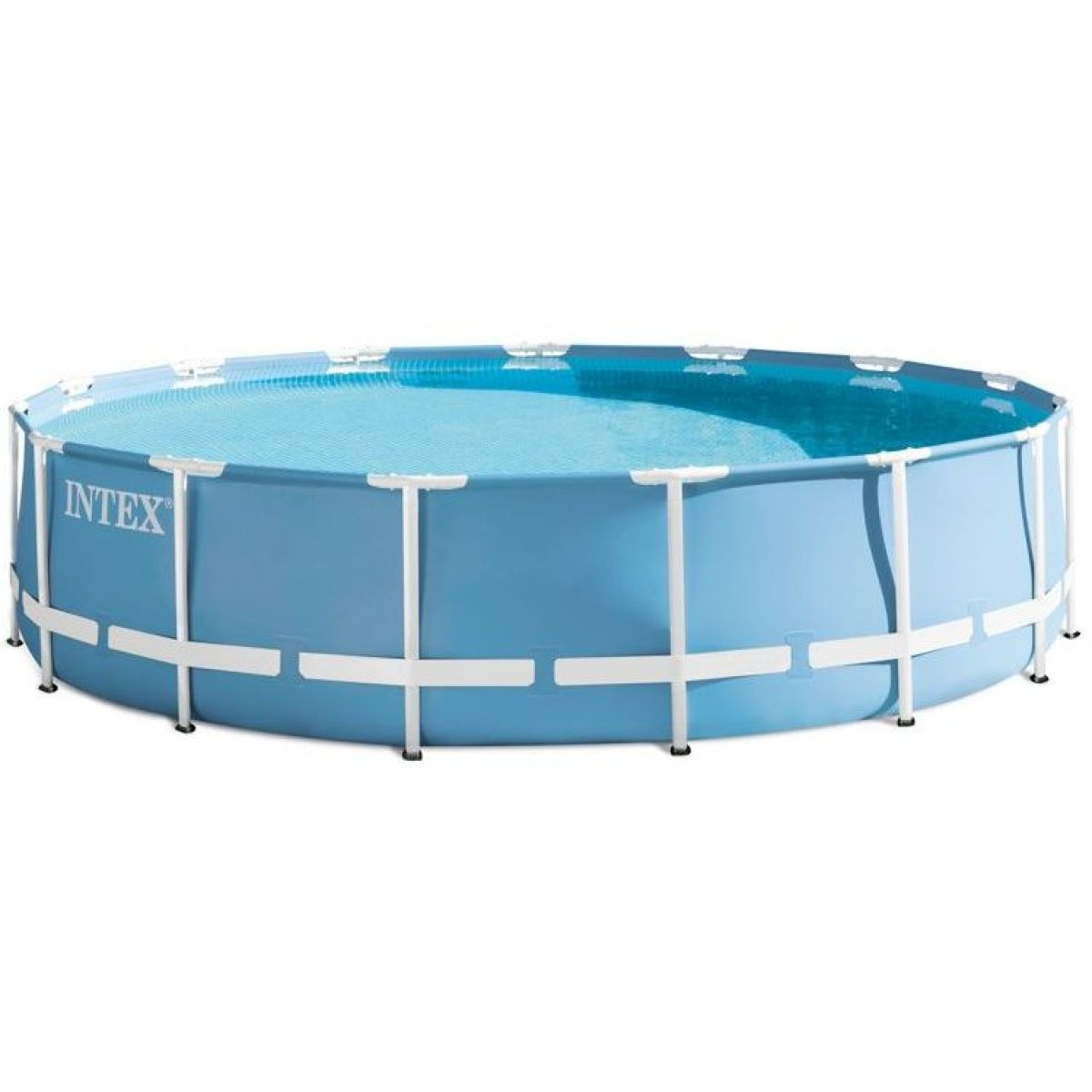 INTEX 26728 Bazén kruhový s rámem Prism frame 4,57 x 0,84 cm