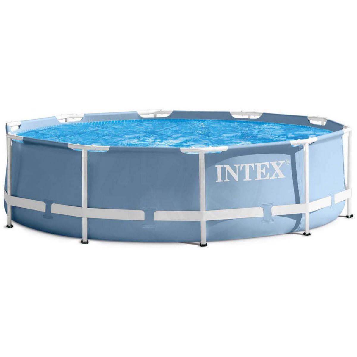 Intex 26752 Bazén kruhový s rámem Prism frame 5,49 x 1,22 m