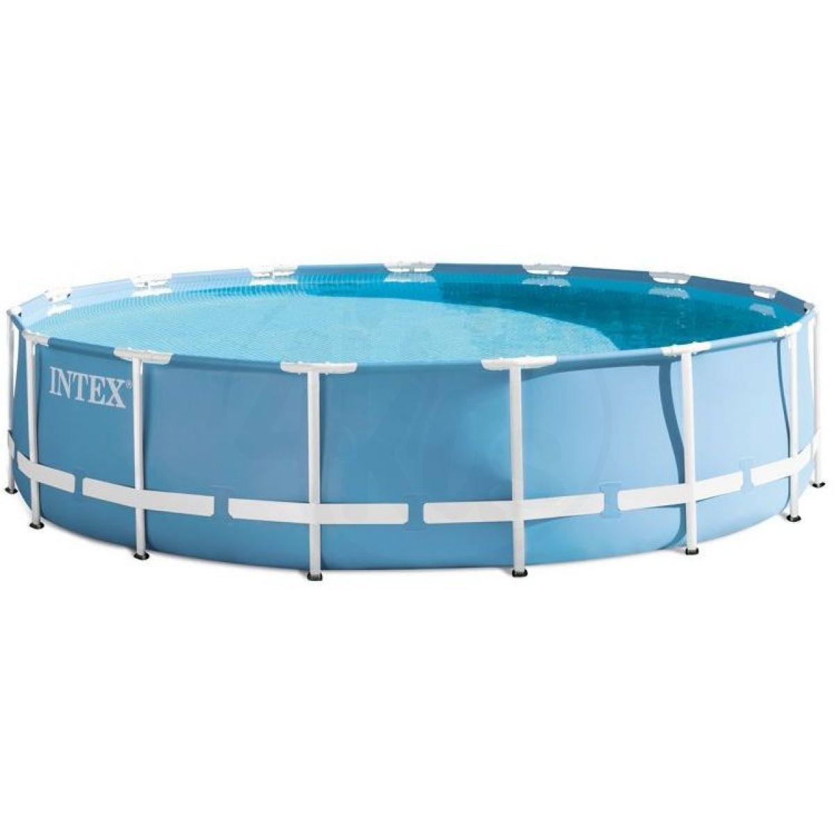 Intex 26762 Bazén kruhový s rámem Prism frame 7,32 x 1,32 m