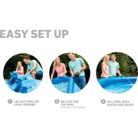 Intex 28142 Easy set Bazén 396x84cm 4