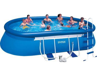 Intex 28192 Bazén ovál s konstrukcí 549x305x107cm