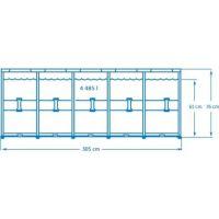 Intex 28200 Bazén kruhový s konstrukcí 305 x 76 cm 2