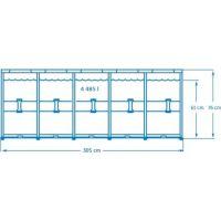 Intex 28202 Bazén kruhový s konstrukcí 305 x 76 cm 2