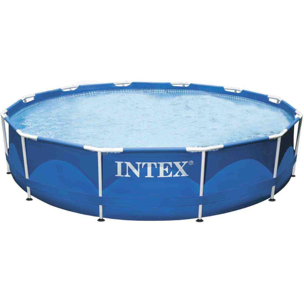Intex 28210NP Bazén s kovovým rámem 3,66 m x 76 cm