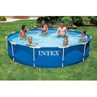Intex 28210NP Bazén s kovovým rámem 3,66 m x 76 cm 2