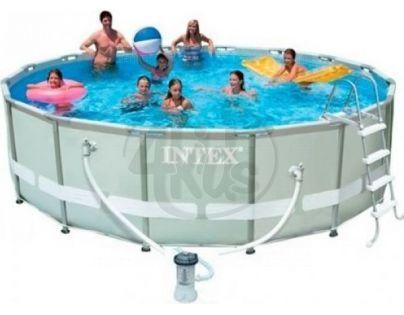 Intex 28310 Bazén s tvrzeným rámem 427 x 107 cm