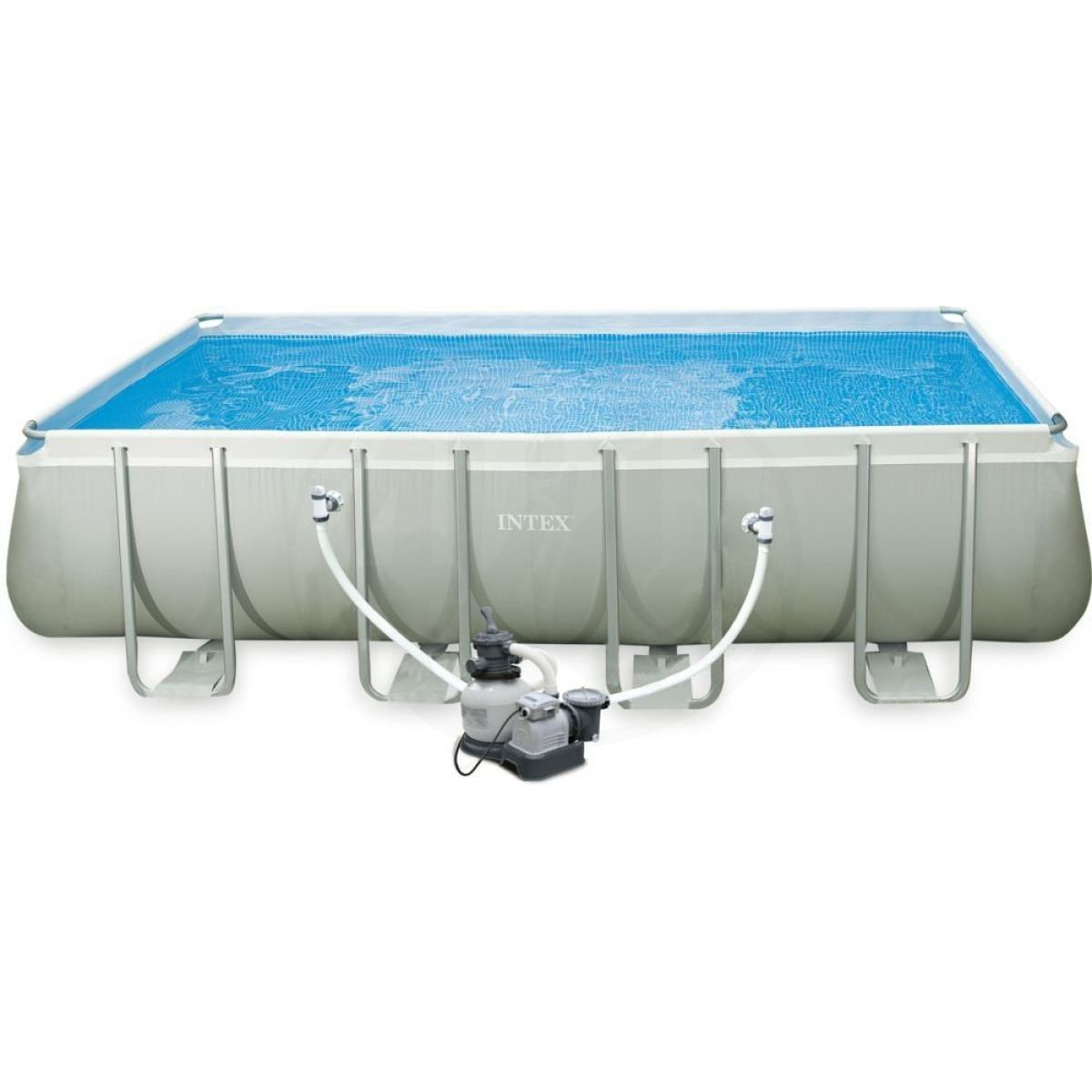Intex 28352 ultra frame pool 5 49 x 2 74 x 1 32 m 4kids for Piscine intex ultra frame 5 49x1 32